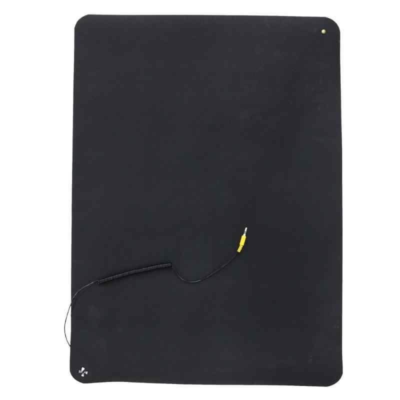 Alloet 700*500 мм антистатический коврик с заземленной проволокой и ESD запястье, чувствительная электроника ремонт одеяло рабочий коврик для телефона