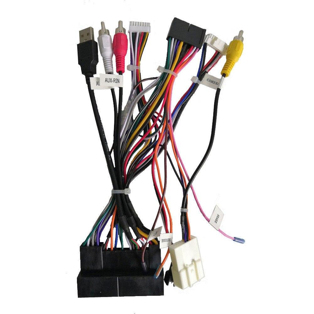 Online Shop Power Adapter Wiring Harness For Klyde Kia K2 K3 K5 K7 Hyundai Ix35 Diagram Ix45 Tucson Elantra Santa Fe