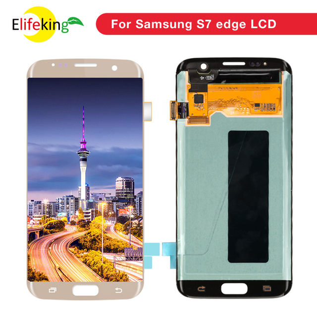 7c7f3a1d3dc 5 5 Super AMOLED S7 LCD Display Replacement For Samsung Galaxy S7 G930 S7  Edge G935