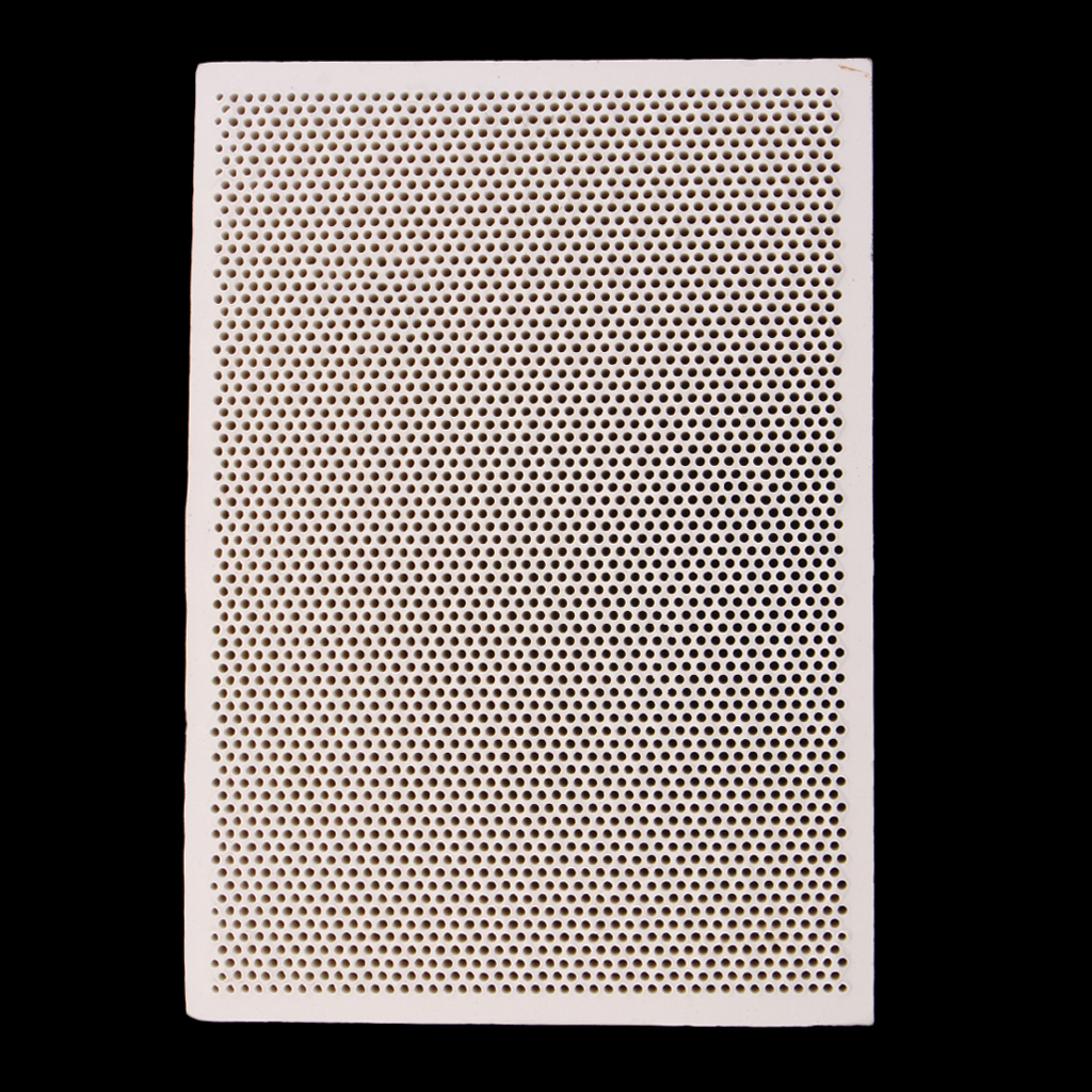 Ceramic Soldering Board Block Heat Proof Mat Jewelry Making Processing Tools Paint Printing Drying 139x96mm