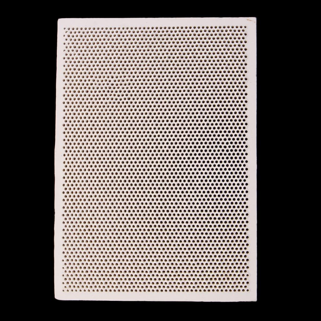 Ceramic Soldering Board Block Heat Proof Mat Jewelry Making Processing Tools Paint Printing Drying 139x96mm