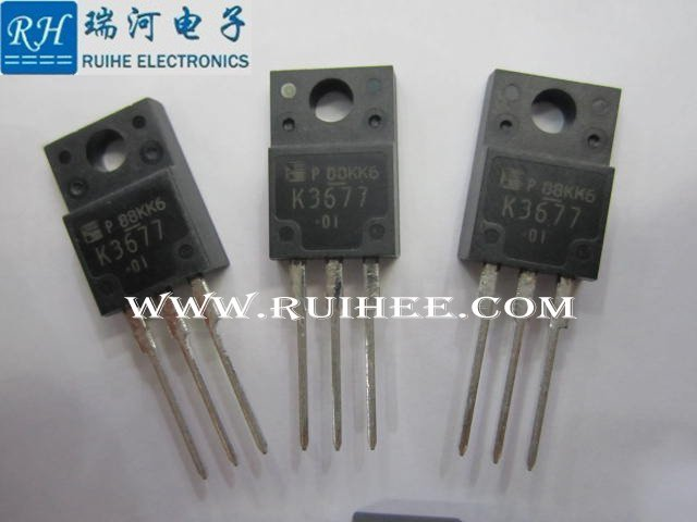 2SK3677-01MR FUJI TO-220, N-CHANNEL SILICON POWER MOSFET TO220-new original 100%,1 spot sales - RUIHE ELECTRONICS (HK store CO., LIMITED)