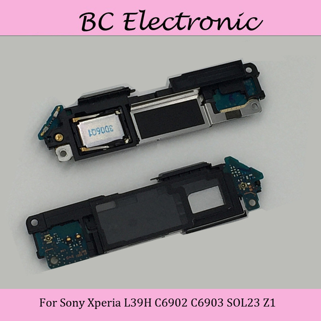 For Sony Xperia L39H C6902 C6903 SOL23 Z1 Speaker Module With Signal Board Whole Set Free Shipping