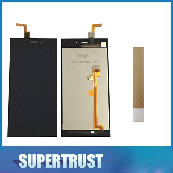 1920*1080 1PC/Lot 5.0inch For <font><b>Xiaomi</b></font> 3 M3 MI 3 <font><b>Mi3</b></font> LCD <font><b>Display</b></font> + Touch Screen Panel Digitizer Assembly Black Color With Kit image