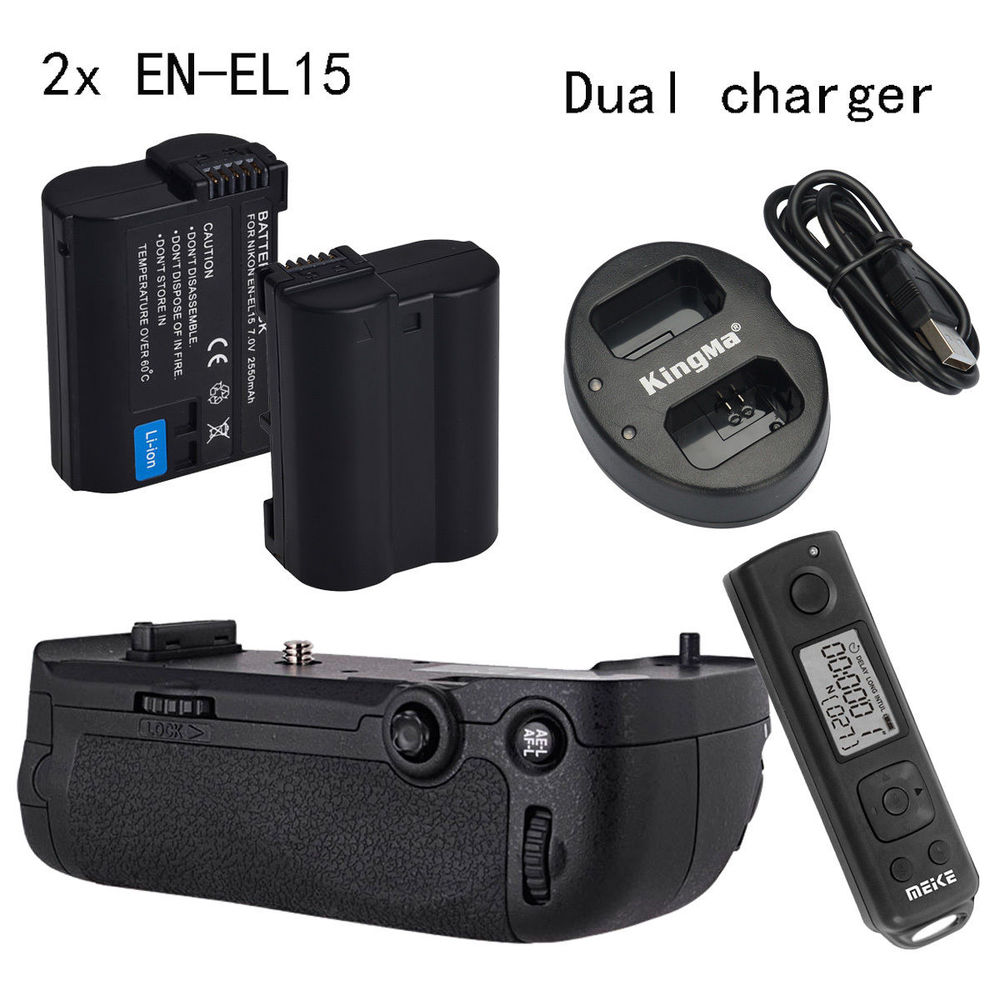 Meike MK DR750 font b Wireless b font Control Battery Grip for Nikon D750 AS MB