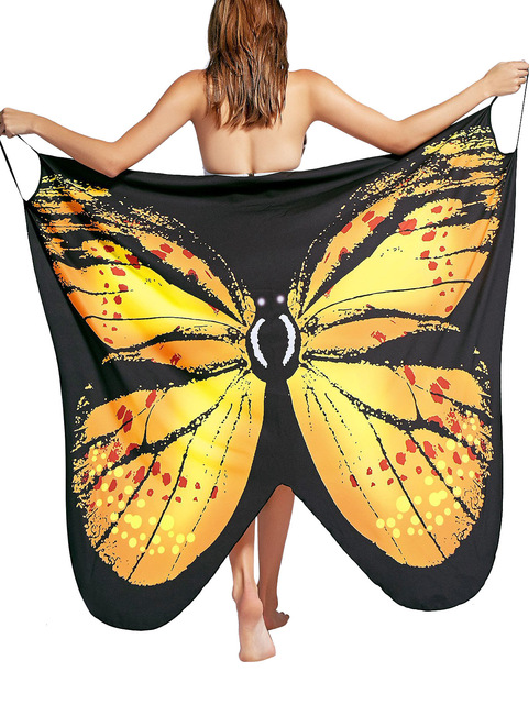 Women's Butterfly Wings Beach Cover Up 6