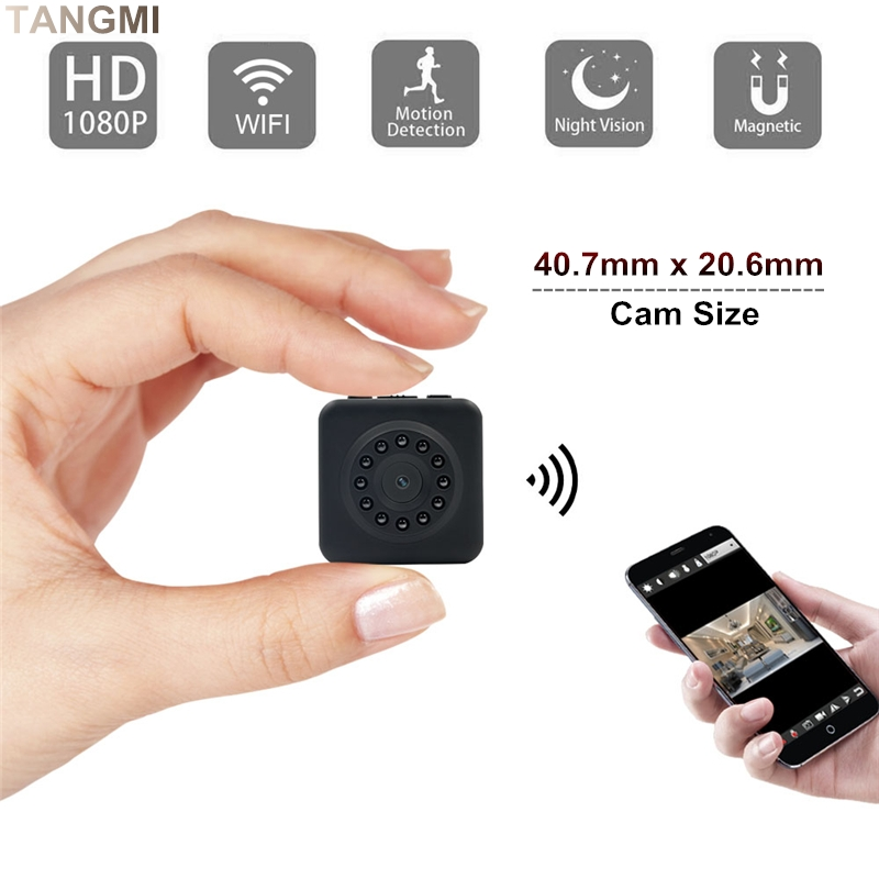 все цены на HD 1080p Wifi IP Mini Camera Wireless Square Body Micro Cam Infrared Night Vision Motion Detection Smart Mini DV DVR Camcorders онлайн
