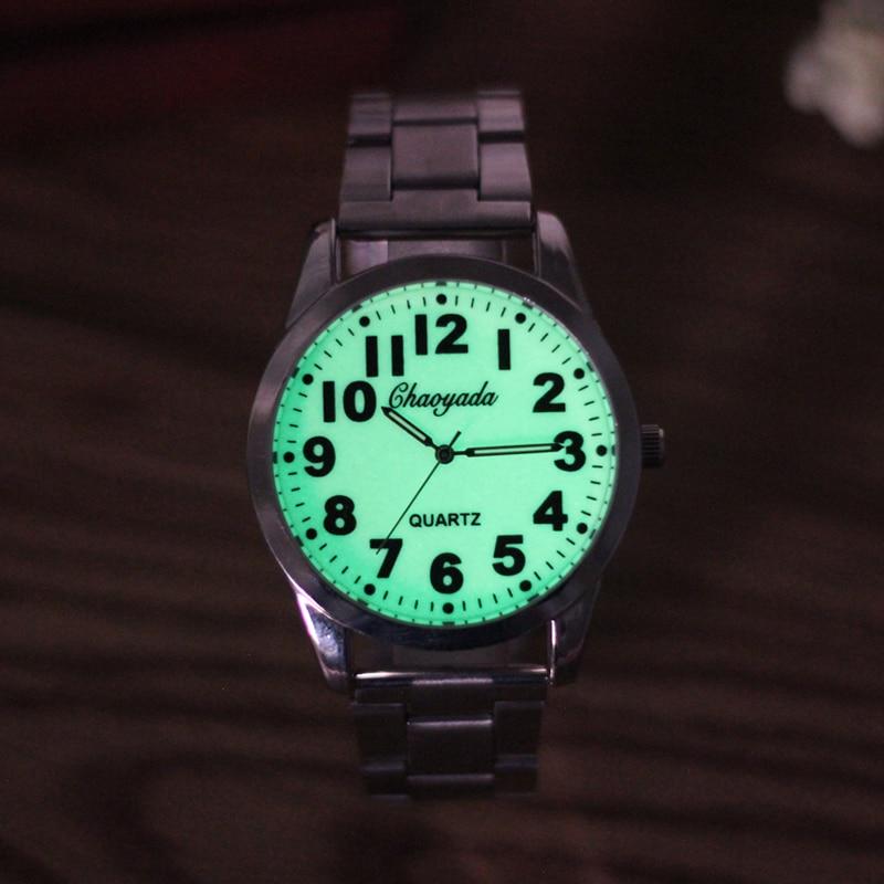 2019 Top Brand Mens Luminous Hand Watch Waterproof Luxury Quartz Business Stainless Steel Military Clock Male Relogio Masculino