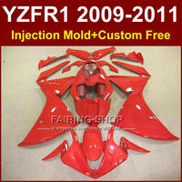 Fullset red Motorcycle body parts for YAMAHA fairings YZF R1 2009 2010 2011 YZF R1 09 10 11 12 R1 bodyworks YZF1000 R1 +7Gifts
