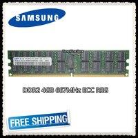 Samsung Server speicher 4GB DDR2 2Rx4 REG ECC RAM 667MHz PC2 5300P 667 4G|Arbeitsspeicher|Computer und Büro -