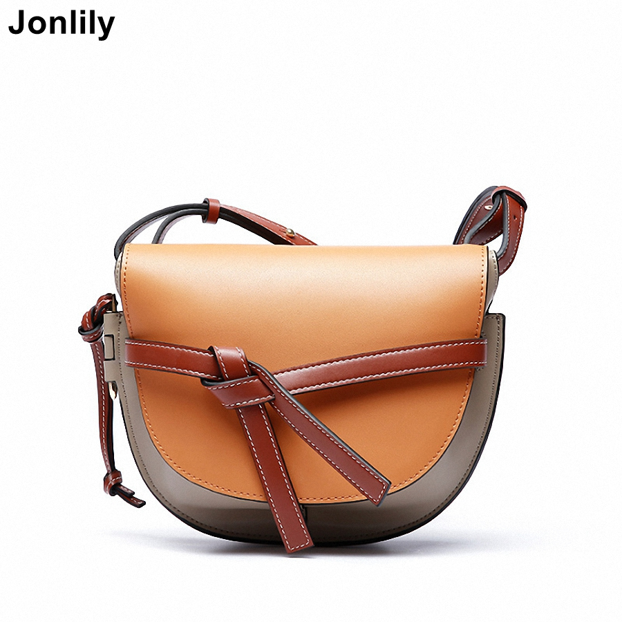 Jonlily Womens Genuine Leather Crossbody  Bags Shoulder Bag High Quality Casual Female Messenger Bags -KG103Jonlily Womens Genuine Leather Crossbody  Bags Shoulder Bag High Quality Casual Female Messenger Bags -KG103