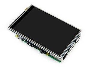 Image 3 - 4 дюймовый сенсорный экран TFT LCD для Raspberry Pi 4 дюймовый RPi LCD (C) 125 МГц высокоскоростной SPI резистивный сенсорный 480x320 Аппаратное Разрешение