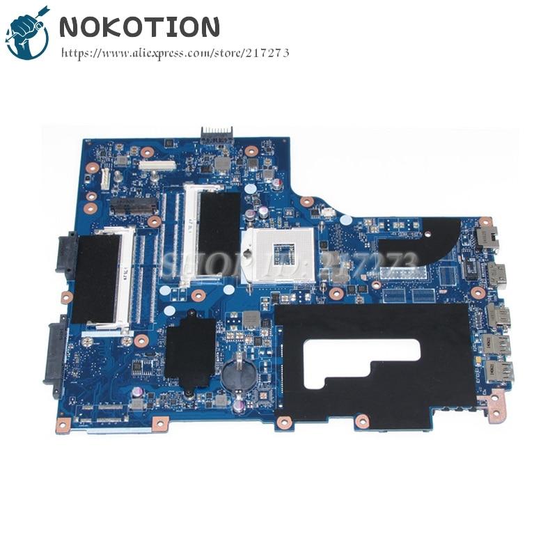 NOKOTION Laptop Motherboard For Acer aspire V3-771 E1-731 E1-771 V3-731 VA70 VG70 MAIN BOARD NBMG711001 NB.MG711.001 DDR3 va70hw main bd gddr5 motherboard for acer aspire v3 772g laptop main board ddr3 geforce gtx760m 100