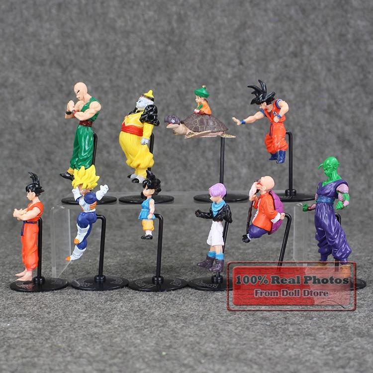 20 шт./лот 5-10 см японского аниме Рисунок Мини Драконий жемчуг фигурку Коллекционная модель игрушки для мальчиков