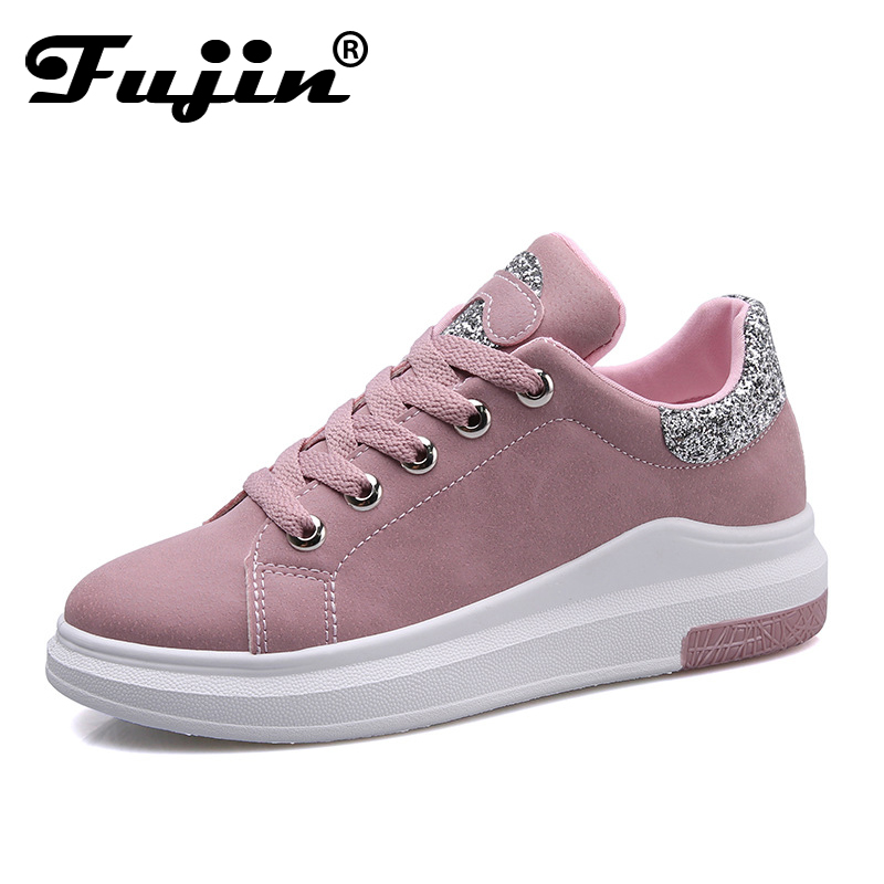 Fujin Brand 2018 Spring Women New sneakers Autumn Soft Comfortable Casual Shoes Fashion Lady Flats Female shoes for student new 2018 spring summer shoes women flats soft leather fashion women s casual brand shoes breathable comfortable