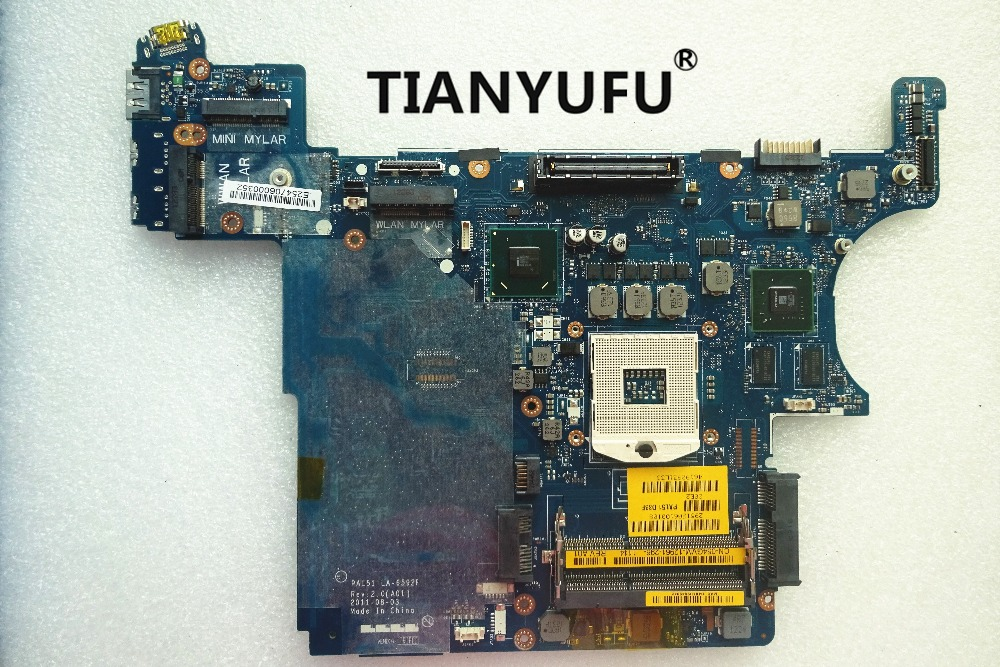 For DELL E6420 Laptop Motherboard LA 6592P CN 0520H0 0PH12P Motherboard DDR3 QM67 PAL51 tested 100