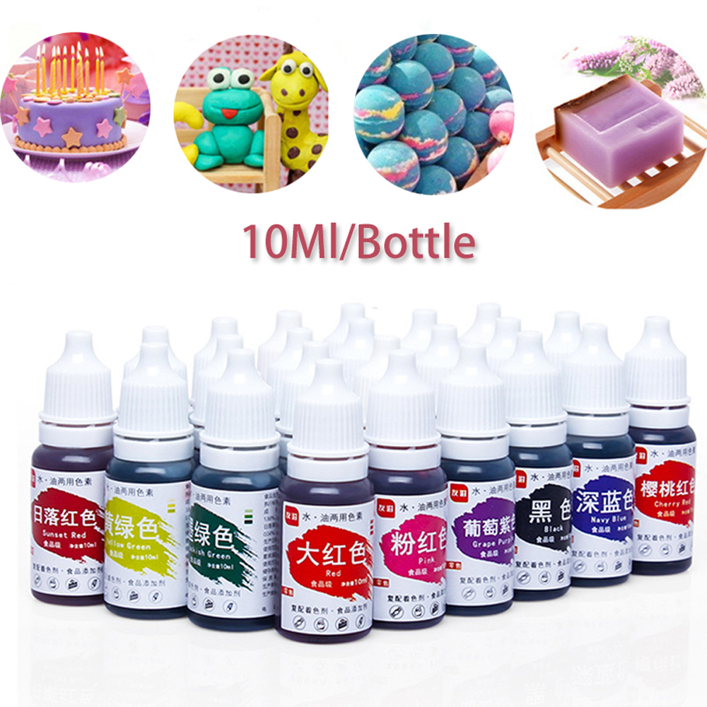6 Colors Handmade Soap Bath Bomb Pigments For Soap Making DIY Must Have Soap Base Christmas Wedding Gift Soap Pigments Set Tools