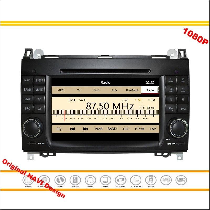 For Mercedes Benz A Class W169 2004~2016 Car Stereo Radio CD DVD Player GPS Navigation 1080P Screen System Original NAVI Design original new alpine 6 cd changer a2038703389 for mercedes w220 s430 s500 cd wechsler mc3330 mc3520 car radio made in hungary