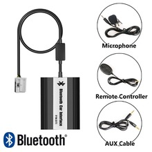 APPS2Car Hands-Free Bluetooth Car Kits USB Auxialiary Input Mp3 Adapter for Peugeot 307 2005