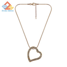 (1 pieces/lot) 100%Environmental protection zinc alloy material Heart-shaped pendant alloy, free shipping yulaili free shipping high quality fashion star design zinc alloy ladies four pieces jewelry sets