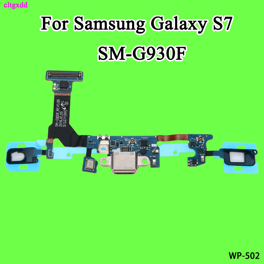 Replacement Charging Flex Cable For Samsung Galaxy S7 Edge S7edge G935F G930F Microphone USB Charging Port Connector Dock For S7