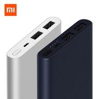 New 2018 Xiaomi Mi Power Bank 2 10000 MAh 18W Quick Charge 10000mAh Powerbank Supports Dual