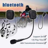 Autoleader étanche 50M Moto casque bluetooth casque sans fil mains libres interphone bluetooth 13H temps de jeu pour Moto