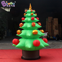 2.2m tall Christmas inflatable tree decoration inflatable toy