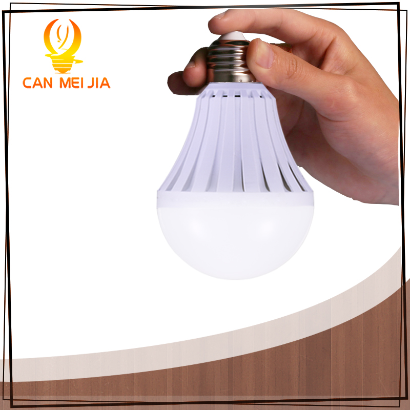 CANMEIJIA LEDs lamp 110V 220V Rechargeable Emergency LED Light Bulbs 5W 7W 9W 12W led Battery Lights Bulb e27 lamps Lighting led smart rechargeable e27 emergency light bulb lamp home commercial outdoor lighting b22 5w 7w 9w 12w 220v energy saving lamp