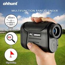 Ohhunt 8X600 м, 800 м, 1500 м, многофункциональные лазерные дальномеры для охоты, гольфа, монокулярный дальномер, дальномер, измерение на открытом воздухе