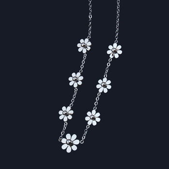 Joyería India PUN, accesorios de ropa para mujer, cadena de acero inoxidable, Gargantilla vintage, mejores amigos, collares y colgantes