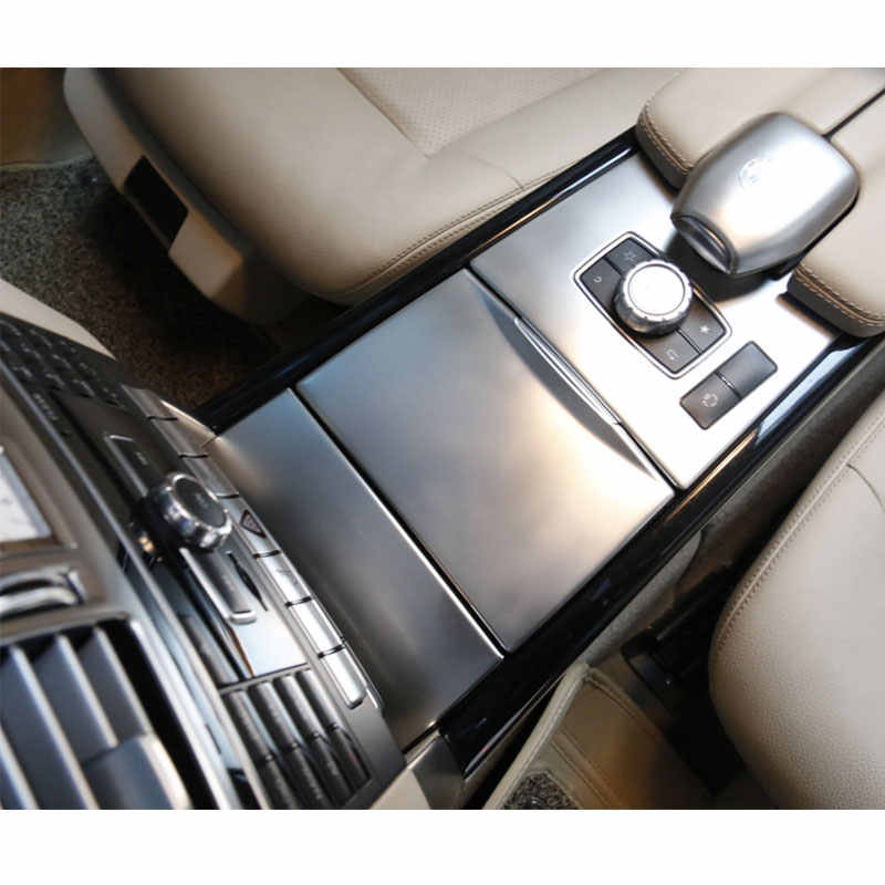 Center Console Button Cover Trim For Mercedes Benz E Class W212 09-15 Durable