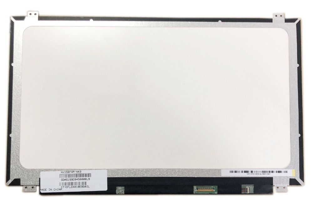 Realistic 15.6 Ips Laptop Matrix For Boe Nv156fhm-n43 Fru Dp/n Sd10h32287 Fhd 1920x1080 Matte 30 Pins 72% Ntsc Panel Replacement Computer & Office