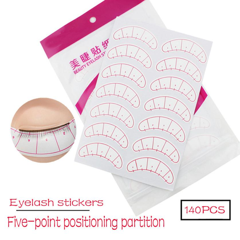 NEW 140 Pcs eye pads for Eyelash Extension Fabrics Pads Stickers Patches Adhesive Tape Tool under eye pads 2M0110