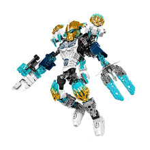 XSZ 612-1 biochemical bioniclemask warrior of the light kopaka melum Bionicle building block compatible with