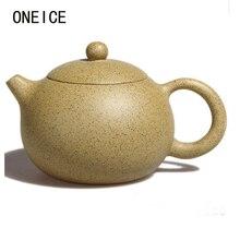 Xi Shi настоящий исинский чайный горшок, известный ручной работы,, минная фиолетовая грязь, кунг-фу, чай, кунжутный горшок, 250 мл, Китайский Исин, чайная посуда