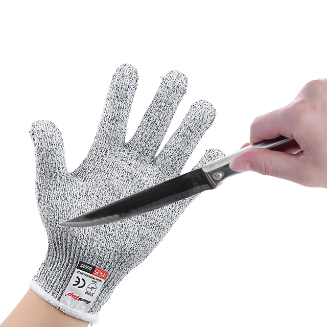 Schnittschutzhandschuhe Küche | Schnittschutzhandschuhe Messer Bestandig Lebensmittelqualitat Stufe
