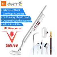 Xiaomi Mijia Deerma Handheld Vacuum Cleaner Multifunctional DX800 Shoulder style Portable Aspirador 4 Nozzle Kit Mihome