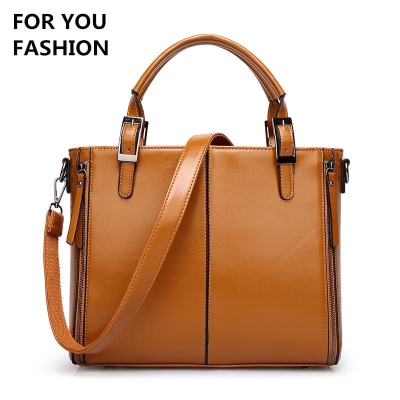 Free Shipping New Women Hobos Bag PU Leather Women Handbag Casual Women Messenger Bags Tote Solid Top-Handle Shoulder Bag