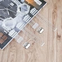 Аксессуары для часов 16 мм мужской прозрачный ремешок из смолы для Casio G-SHOCK GA100 GD110 GD120 GA110 женский спортивный прозрачный чехол