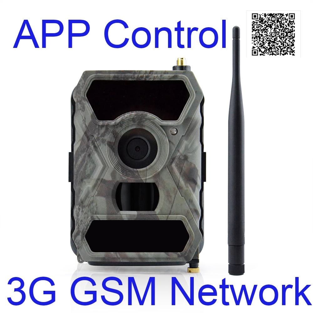 Mobilephone App Control Outdoor Surveillance Cameras 3G Wildlife Cameras MMS Hunting Outside Cameras 3G Wild Hunter Cameras