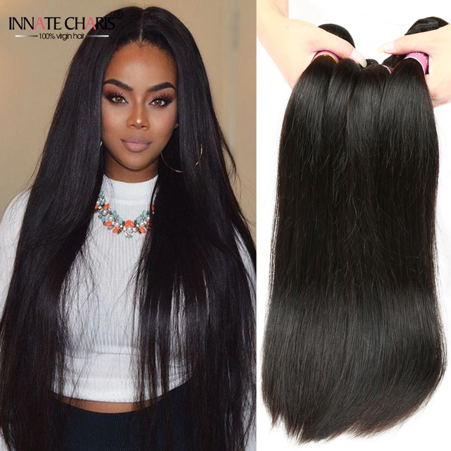 Innate Charis Brazilian Virgin Hair Straight 3 Bundles Wholesale