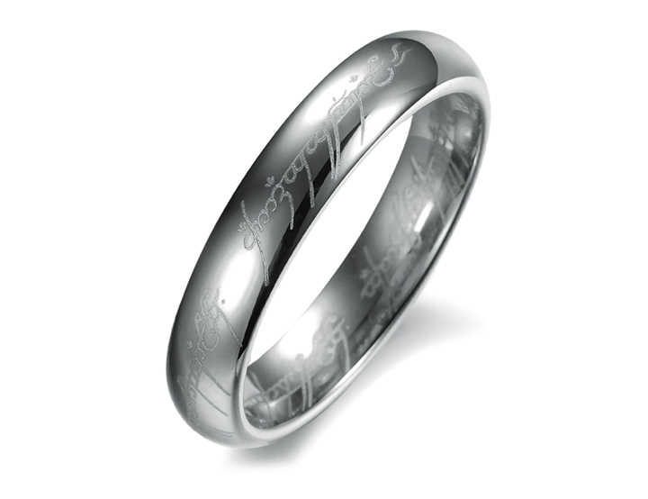 Men Ring Tungsten Steel Wedding Male Bands Seigneur Des Anneaux Anel Homens Punk Rock Jewelry Clearance Male Gift