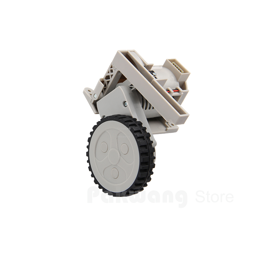 Original Robot Vacuum cleaner Left Wheel 1 pc of A320,A325,A335,A336,A337,A338 spare parts for cleaner a320 a325 a330 a335 a336 a337 a338 360 degrees front wheel assembly for robot vacuum cleaner 1pcs pack