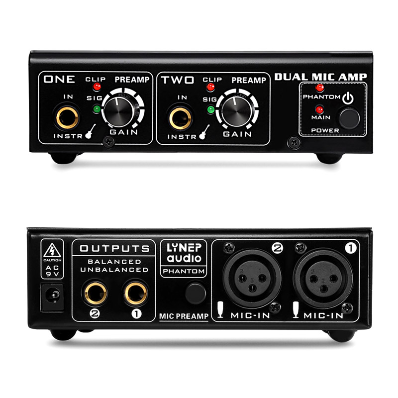 2 Way Microphone Amplifier Electric Guitar Bass Amp US Plug EM882 Way Microphone Amplifier Electric Guitar Bass Amp US Plug EM88