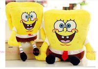 Cartoon Spongebob Plush Toy Soft Warm Hand Muff Hand Warmer Office Nap Pillow Birthday Gift W5355