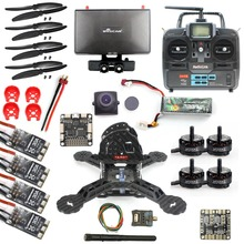 DIY RTF Racer 190 FPV Drone F3 Flight Controller Camera Radiolink T6EHP-E Remote control Monitor Helicopter
