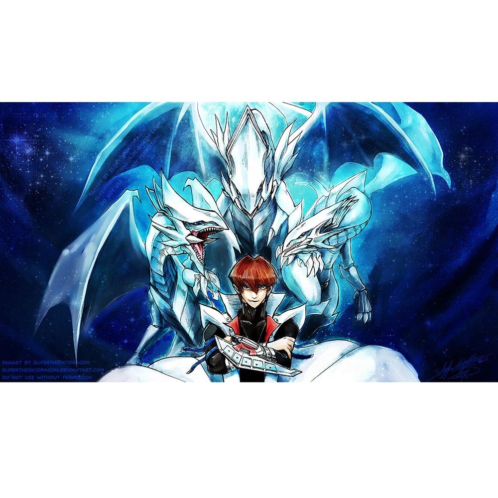 seto kaibe blue eyes white dragon master limited edition 35x60cm