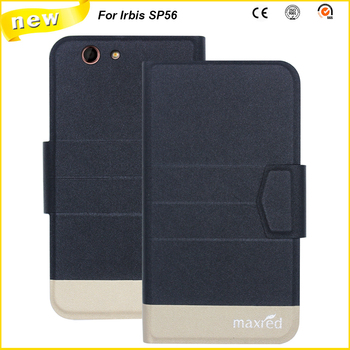5 Colors Original!Irbis SP56 Case High Quality Flip Ultra-thin Luxury Leather Protective Case For Irbis SP56 Cover image