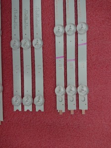 Image 2 - New 5set=50pcs LED backlight strip Replacement FOR LG 42LN5300 6916L 1214A 1215A 6916L 1216A 1217A 6916L 1385A 1386A 1387A 1388A